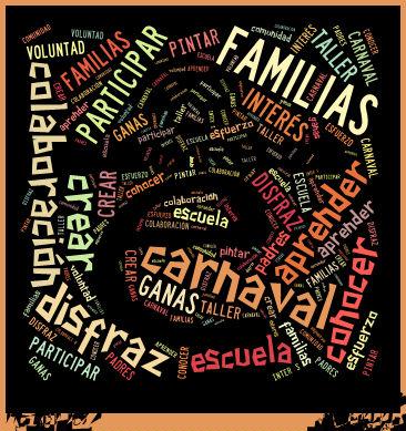 car1 Carnaval en la escuela.
