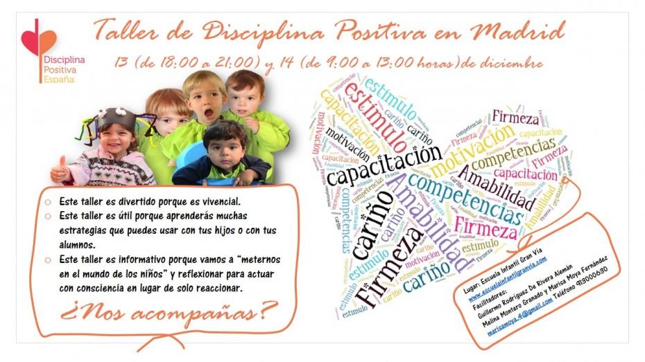 Taltaller-e1383518048377 Taller vivencial de Disciplina Positiva en Madrid