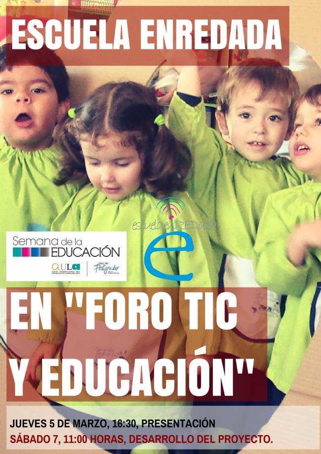 2-2-e1423859252283 Escuela enREDada en Foro TIC y Educación #FOROTICEDU